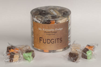 Bite Sized Fudge